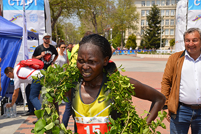 RUTH MATEBO - winner of Marathon Varna 2018