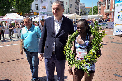RUTH MATEBO - winner of Marathon Varna 2019