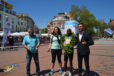 Hosea TUEI - winner of Marathon Varna 2019
